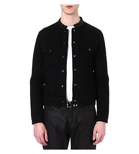 THE KOOPLES Denim jacket (Black