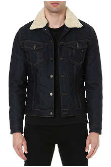 THE KOOPLES SPORT Stretch-denim jacket