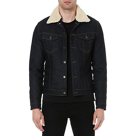 THE KOOPLES SPORT Stretch-denim jacket (Blue