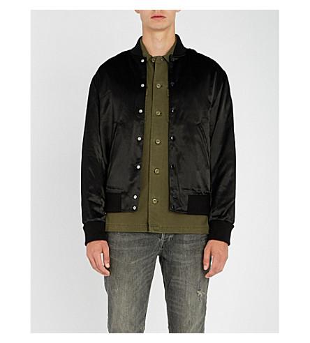 THE KOOPLES Teddy satin jacket (Bla06