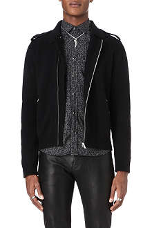 THE KOOPLES Biker-style cardigan
