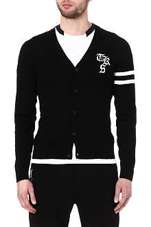 THE KOOPLES SPORT Varsity style cardigan