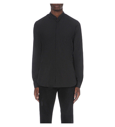 THE KOOPLES Target print shirt (Black