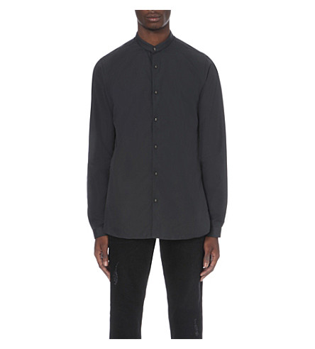 THE KOOPLES Skull button shirt (Kaki