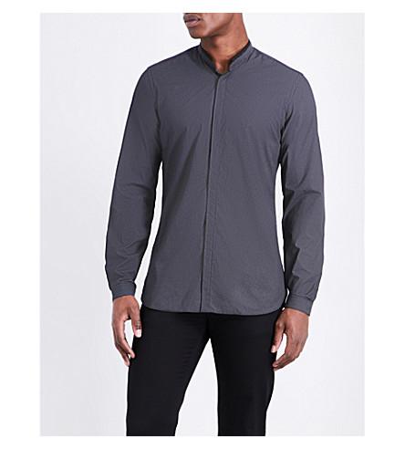 THE KOOPLES Polka-dot cotton shirt (Bla28