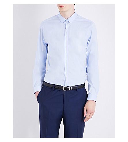 THE KOOPLES Slim-fit stretch-cotton shirt (Blu01