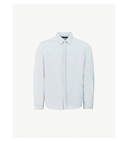 THE KOOPLES Regular-fit denim shirt (Blu18