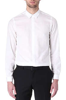 THE KOOPLES Dandy linen single-cuff shirt