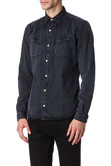 THE KOOPLES Western-style denim shirt
