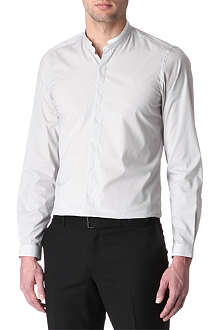 THE KOOPLES Contrast stand-collar single-cuff shirt