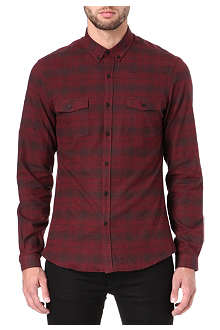 THE KOOPLES SPORT Checked flannel shirt