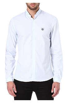 THE KOOPLES SPORT Striped cotton-poplin shirt