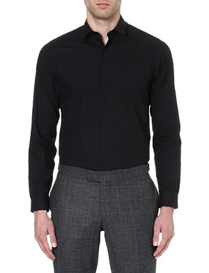 THE KOOPLES Cotton-poplin shirt
