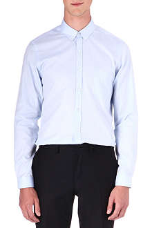 THE KOOPLES Herringbone single-cuff shirt