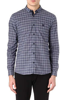 THE KOOPLES SPORT Checked cotton-poplin shirt