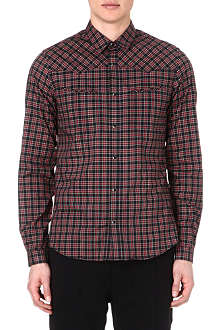 THE KOOPLES SPORT Western-style checked shirt