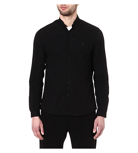THE KOOPLES SPORT Oxford shirt (Black