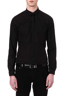 THE KOOPLES Polka-dot slim-fit shirt