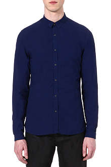 THE KOOPLES Denim-style slim-fit shirt