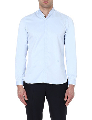 THE KOOPLES Stand-collar slim-fit shirt