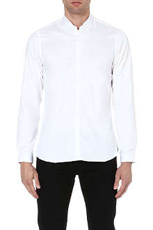 THE KOOPLES Mandarin collar cotton shirt