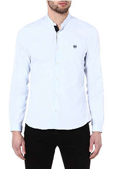 THE KOOPLES SPORT Oxford shirt with stand collar