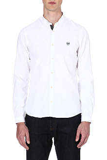 THE KOOPLES SPORT Mandarin collar cotton shirt