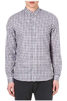 THE KOOPLES SPORT Checked regular-fit shirt