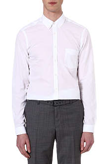 THE KOOPLES Chambray slim-fit cotton shirt