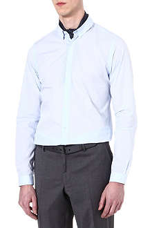 THE KOOPLES Slim-fit cotton-poplin shirt