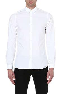 THE KOOPLES Plain cotton-poplin shirt