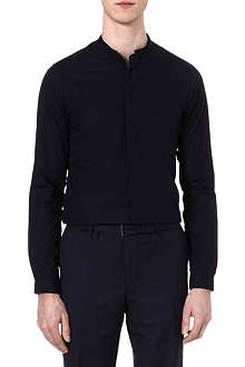 THE KOOPLES Standup collar slim-fit cotton shirt