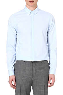 THE KOOPLES Contrast-detail slim-fit shirt