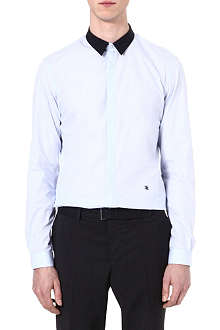 THE KOOPLES Regular-fit end-on-end cotton shirt