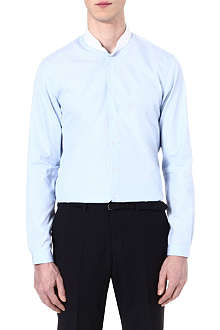 THE KOOPLES Striped cotton-poplin slim-fit shirt