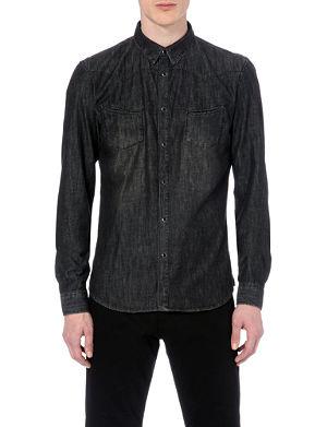 THE KOOPLES SPORT Western denim shirt