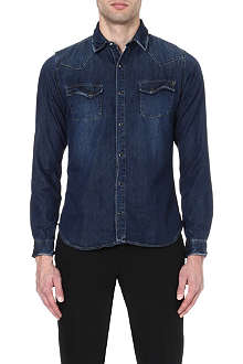 THE KOOPLES Washed denim shirt
