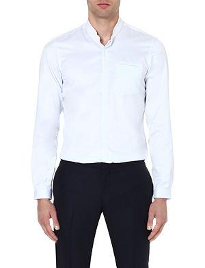 THE KOOPLES Mandarin collar cotton shirt