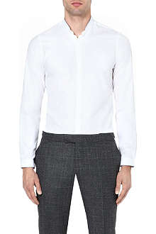 THE KOOPLES Contrast-trim cotton shirt