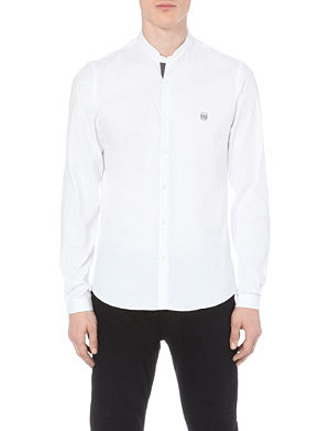 THE KOOPLES SPORT Stand-collared cotton shirt