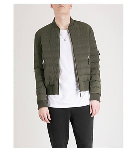 THE KOOPLES Quilted shell down jacket (Kak01
