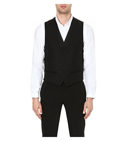 THE KOOPLES V-neck wool waistcoat (Black