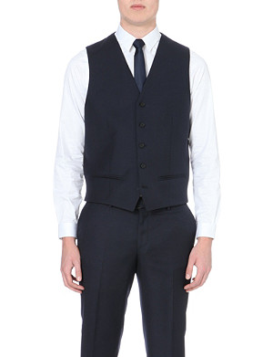 THE KOOPLES Single-breasted wool waistcoat