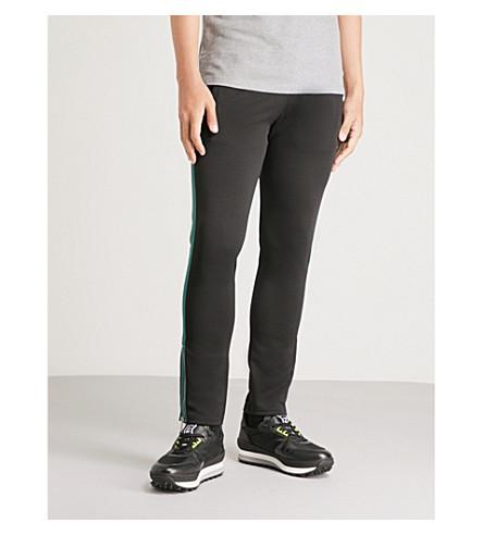 THE KOOPLES Side-stripe stretch-jersey skinny jogging bottoms (Blak1
