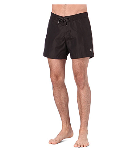 THE KOOPLES SPORT Skull-crest swim shorts (Kaki