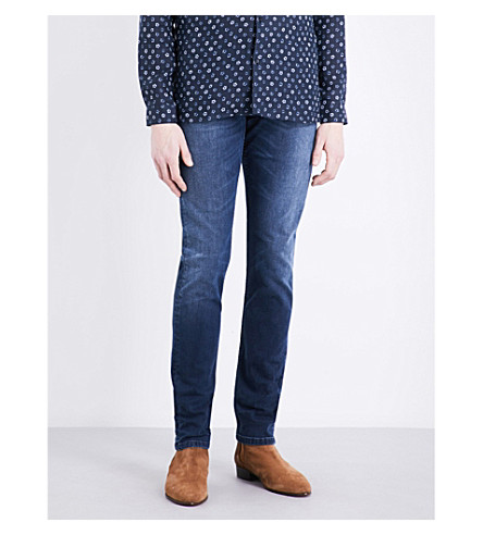 THE KOOPLES Faded slim-fit skinny jeans (Blu02