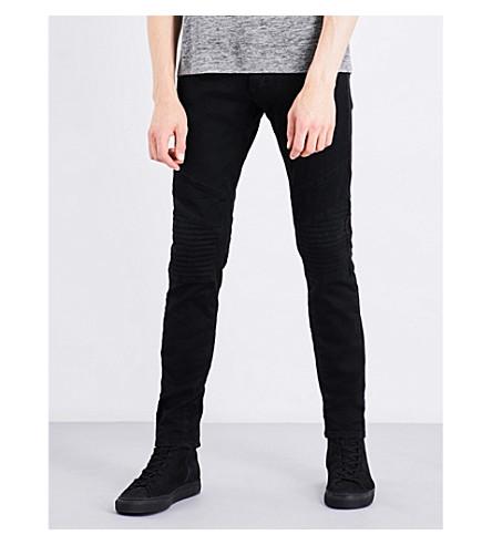 THE KOOPLES Biker-detail skinny jeans (Bla01