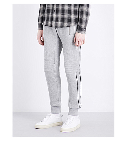 THE KOOPLES SPORT Biker cotton-jersey track pants (Gry05
