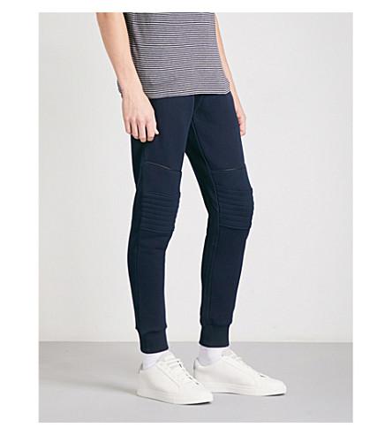 THE KOOPLES Biker cotton-jersey jogging bottoms (Nav01