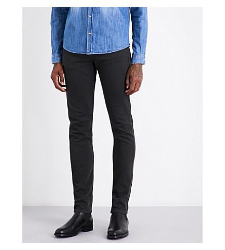 THE KOOPLES SPORT Slim-fit straight stretch-denim jeans (Gry32